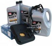 Filtr oraz olej Dextron-VI automatycznej skrzyni biegów 42RL Chrysler 300C V6