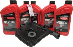 Filtr olej Motorcraft Mercon LV skrzyni biegów 6F35 Ford Explorer 2,0 / 2,3 EcoBoost