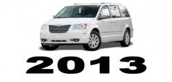 Specyfikacja Chrysler Voyager Town&Country 2013