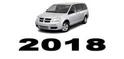 Specyfikacja Dodge Caravan 2018
