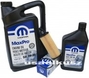 Olej MOPAR 5W30 oraz oryginalny filtr Dodge Journey 3,6 V6 2014-