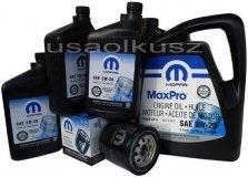 Oryginalny filtr oraz olej MOPAR 5W20 Jeep Grand Cherokee 5,7 V8 2008-2014