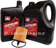 Filtr oraz mineralny olej 5W30 Oldsmobile Alero 2,2