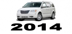 Specyfikacja Chrysler Voyager Town&Country 2014