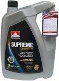 Olej silnikowy syntetyczny SUPREME 5W30 5L