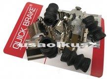 Zestaw montażowy tylnych klocków hamulcowych Dodge Grand Caravan 2008-