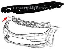 Ślizg mocowanie zderzaka przedniego prawe Chrysler 200 2015-
