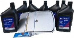 Filtr + olej ACDelco skrzyni biegów GM 5L40E Pontiac G8 3,6 V6 2008-2009