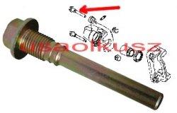 Górna śruba prowadnicy tylnego zacisku Nissan Altima 2002-