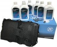 Filtr + olej skrzyni 8-SPD ZF 8HP45 Chrysler 300C 3,6 V6 2012-2013