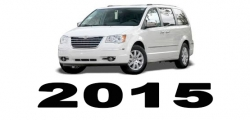 Specyfikacja Chrysler Voyager Town&Country 2015