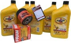Filtr + olej PENNZOIL 5W30 Pontiac Aztek