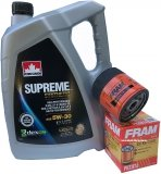 Filtr oraz syntetyczny olej 5W30 GMC Savana 4,3 V6 2000-