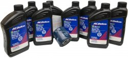 Filtr olej silnikowy 0W20 Dexos2 Full Synthetic ACDelco Chevrolet Silverado 1500 2014-
