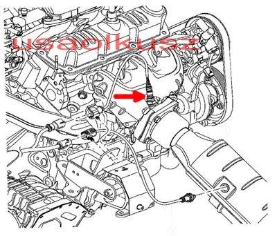 Sonda lambda przednia MOPAR Dodge Caravan V6 2004-2005