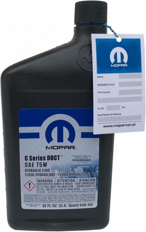 Olej skrzyni DDCT seria C SAE 75W