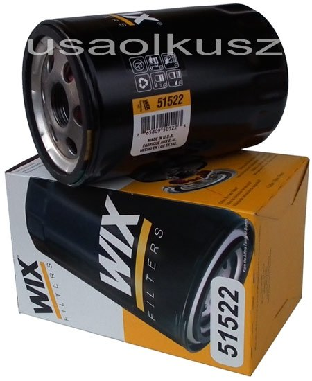 Filtr oleju silnika WIX  GMC Sierra 2000-2002