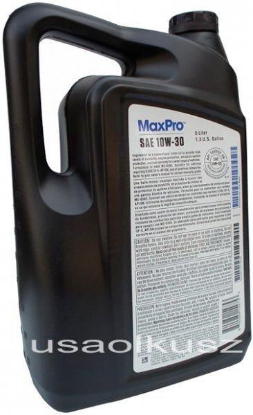 Karton oleju silnikowego 10W30 MOPAR GF-5 MS-6395 15l