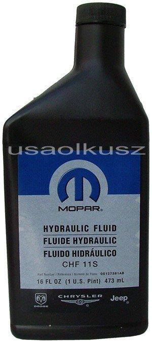 Płyn / olej elektrycznego wspomagania MOPAR CHF 11 S CHF11S Dodge Durango Chrysler Aspen