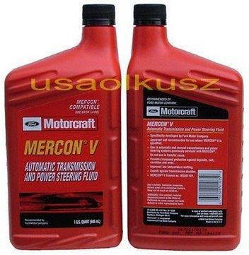 Olej automatycznej skrzyni biegów Motorcraft MERCON V 1l Ford