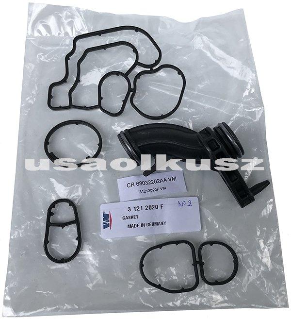 Uszczelki obudowy filtra oraz chłodnicy oleju Jeep Cherokee 2,8 CRD 2008- 31212020F