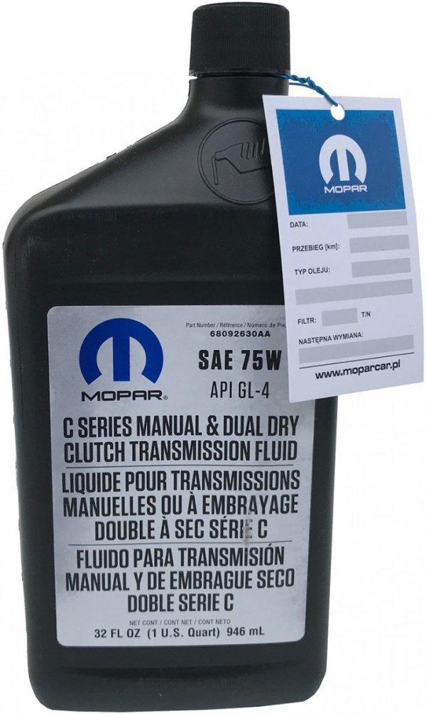 Olej skrzyni seria C514 C635 C725 C735 oraz DDCT SAE 75W API GL4