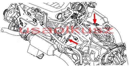Sonda lambda tylna MOPAR Chrysler Pacifica 3,8 V6
