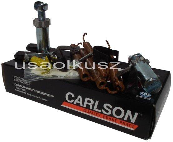 Zestaw montażowy szczęk hamulca postojowego Jeep Wrangler JK 2007-
