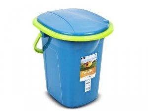 Toaleta turystyczna GreenBlue GB320BL morski-limonka