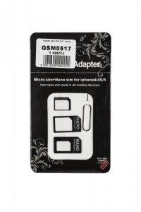 Adapter kart SIM M-Life 3W1 (nano SIM / micro SIM / SIM)