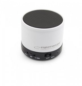 Głośnik Bluetooth Esperanza Ritmo Biały EP115W