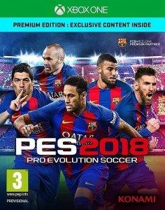 Gra Pro Evolution Soccer 2018 Premium (XBOX ONE)
