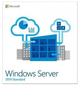 Oprogramowanie Windows Server Standard 2019 64Bit Polish DVD 16 Core