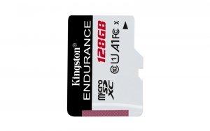 Kingston karta pamięci microSDXC Endurance (128GB   class 10   UHS-I   95 MB/s)