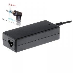 Akyga Zasilacz do notebooka AK-ND-69 19.5V / 2.31A 45W 4.5 x 3.0 mm + pin HP 1.2m