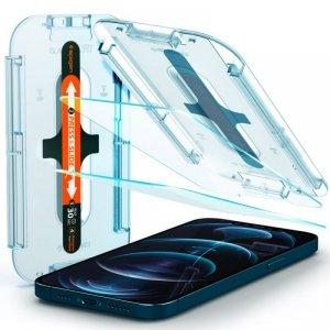 Spigen szkło hartowane Glass TR EZ FIT do iPhone 12 Pro Max 2 szt