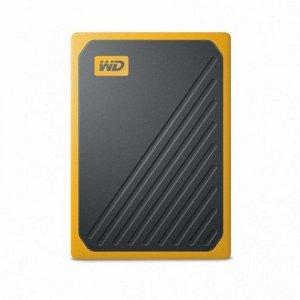 WD dysk SSD przenośny My Passport Go 2 TB żółty