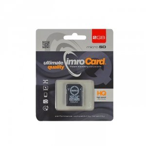 IMRO MicroSD 2GB kl.4  z adapterem