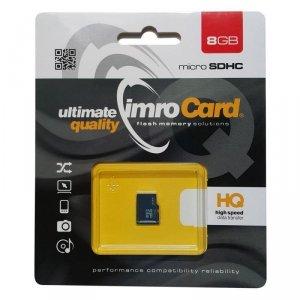 IMRO MicroSDHC 8GB kl.4 bez adaptera