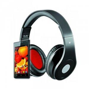 Rebeltec słuchawki przewodowe AUDIOFEEL2 nauszne czarne