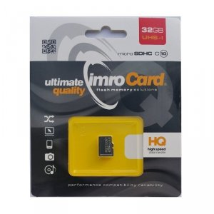 IMRO MicroSD 32GB (kl.10 | UHS-I)