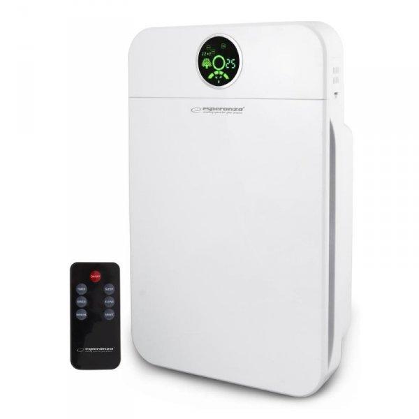 Oczyszczacz powietrza Esperanza Zephyr EHP002 biały