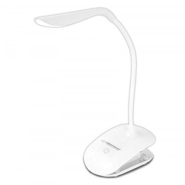 Lampka LED biurkowa Esperanza Deneb ELD104W biała
