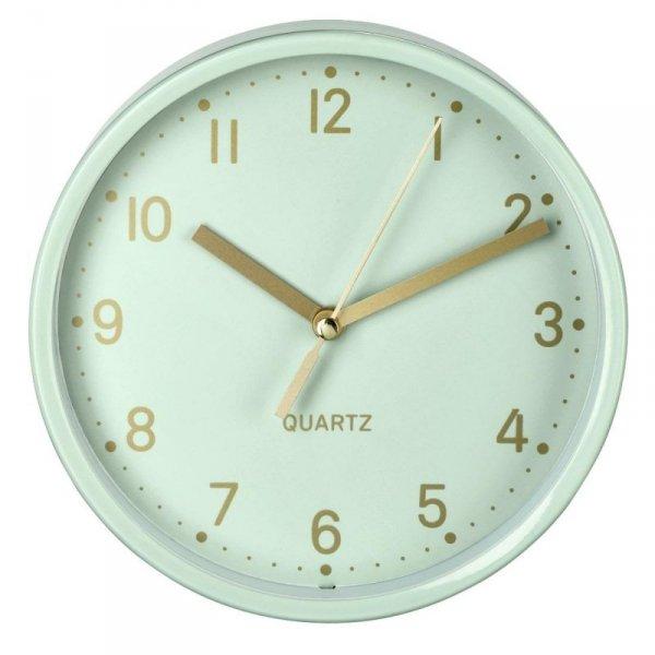 """Zegar stołowy Hama """"Golden"""" miętowy"""