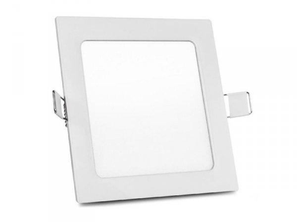 Panel LED sufitowy Led4U LD154W podtynkowy slim 12W Warm white 2800-3200K 170*170*H20mm