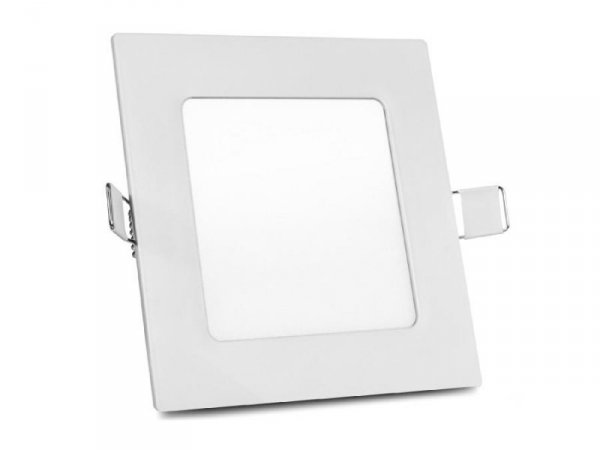 Panel LED sufitowy Led4U LD152N podtynkowy slim 6W Natural white 4000-4500K 120*120*H20mm