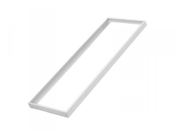 Rama aluminiowa Maclean Energy MCE542 W natynkowa dla paneli LED sufitowych