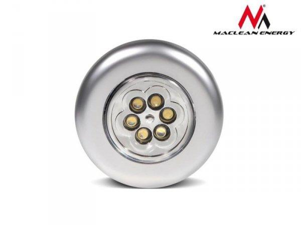 Lampa samoprzylepna 6xLED Maclean MCE27 na baterie 3xAAA
