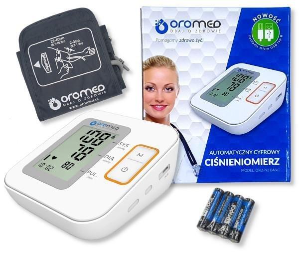 Ciśnieniomierz OROMED ORO-N2 BASIC
