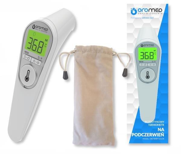 Termometr bezdotykowy OROMED ORO-BABY COLOR